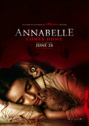 Annabelle Comes Home 2019 Full Hindi Movie Download Dual Audio HDRip 720p