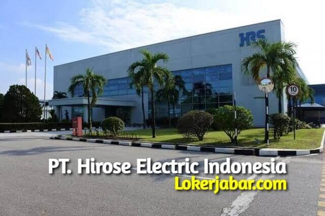 Lowongan Operator Produksi PT Hirose Electric Indonesia