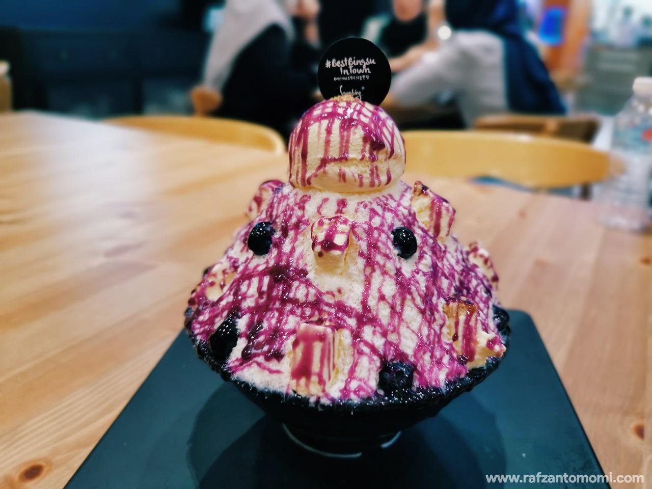 Cuba Bingsu Di Hanbing Korean Dessert Cafe