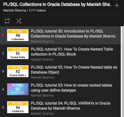 The PL/SQL Collection Resource Center