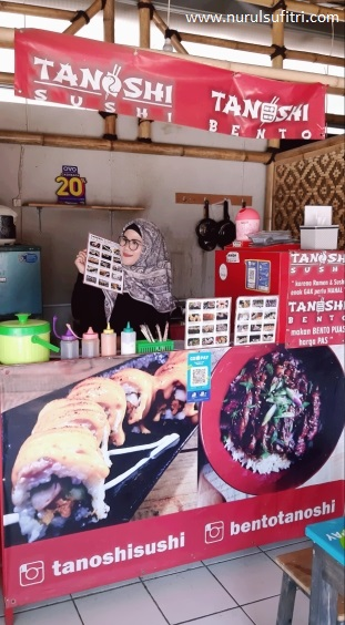 Nurul Sufitri S Blog Kuliner Tanoshi Sushi Makanan Jepang Murah