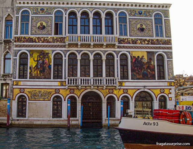 Palácio no Grande Canal de Veneza