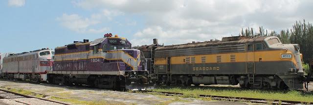 """En el museo del ferrocarril """"Gold Coast Railroad Museum"""""""