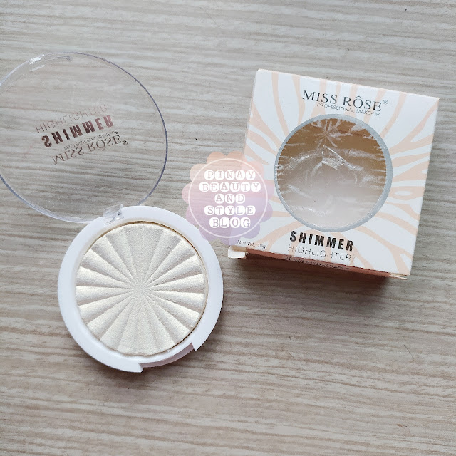 REVIEW Miss Rose Highlighter with Swatches! Cheap Highlighting Powder for Summer!