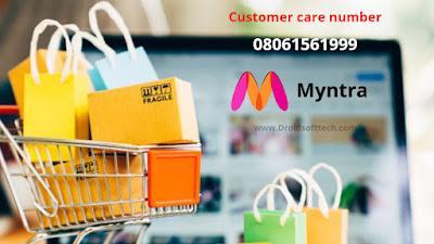 Find Myntra app Customer care number