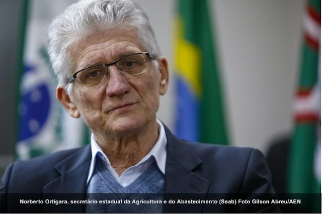 """""""Conquistamos uma espécie de passaporte para a produção paranaense"""", diz Ortigara sobre o selo OIE"""