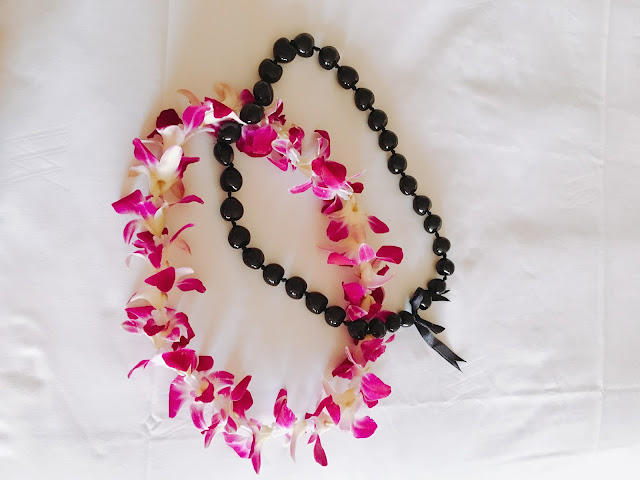 leis at the Grand Wailea
