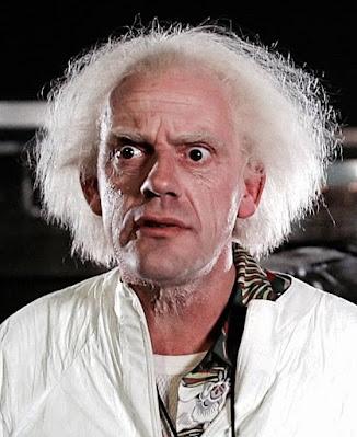 Christopher Lloyd (Doc Brown en 'Regreso al Futuro')
