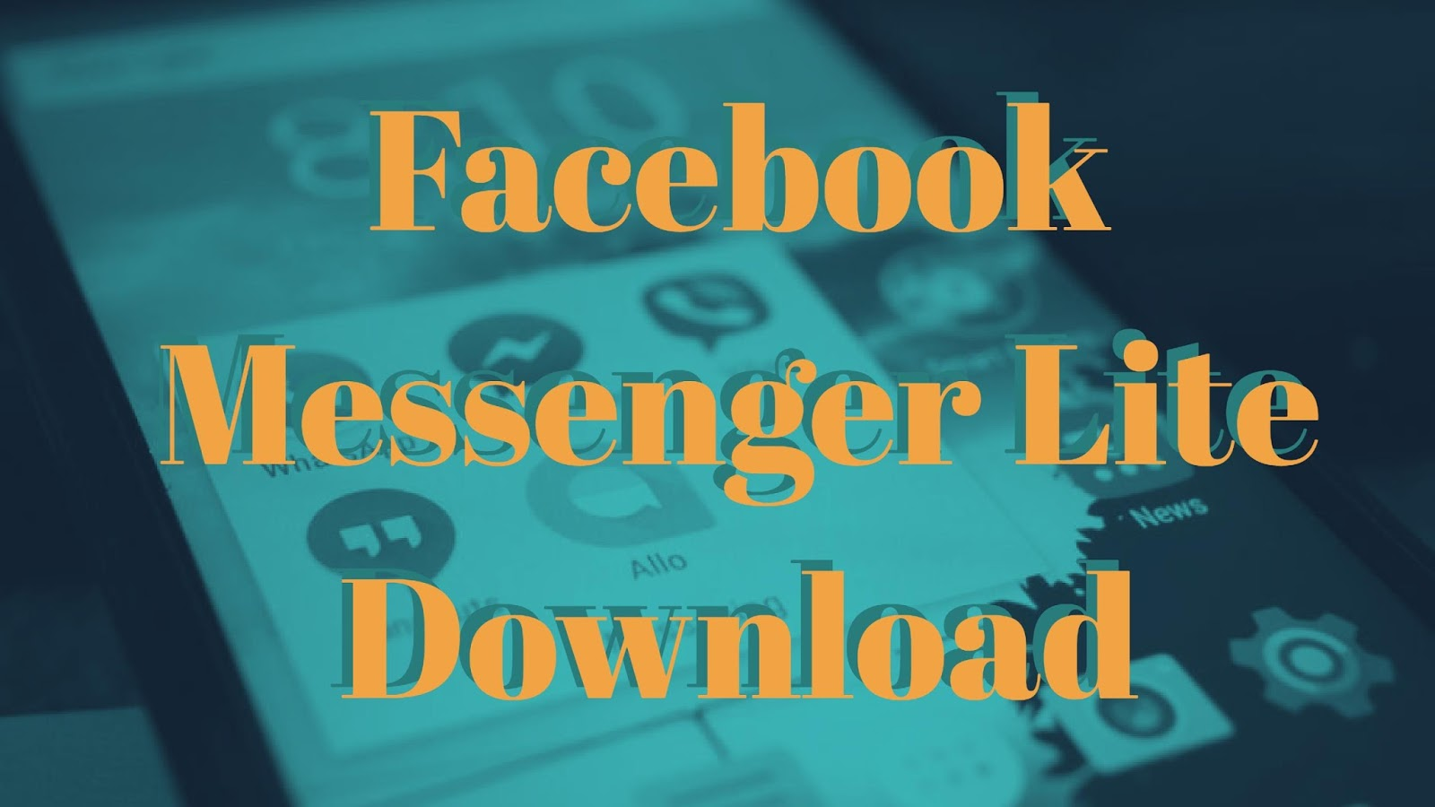 Facebook Messenger Lite download and features - T3chExpress