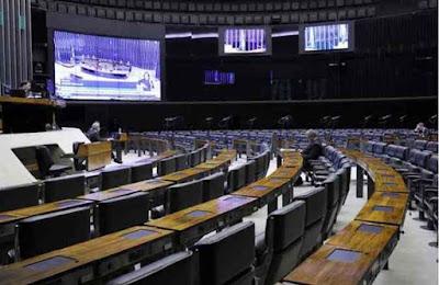 O texto-base do projeto de lei complementar de ajuda aos estados e aos municípios recebeu 431 votos a favor e 70 contra (foto: Maryanna Oliveira/Camara dos Deputados)