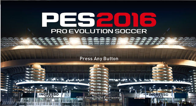 Pro Evolution Soccer 2016 + Crack