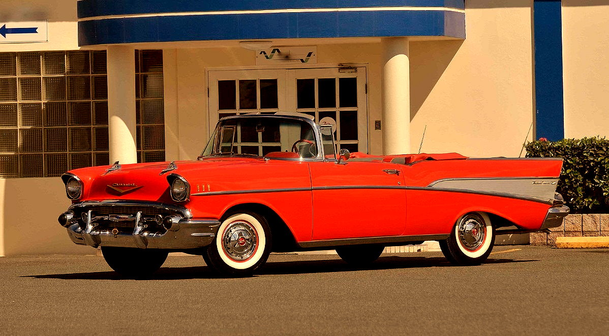 Muscle Car Collection 1957 Chevrolet Bel Air Convertible Chevy Bellaire