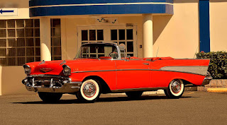 1957 Chevrolet Bel Air Convertible Front Left