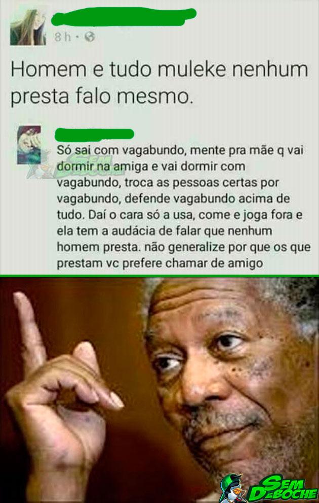 HOMEM É TUDO MULEKE