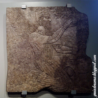 Peça Assíria no Museu Barraco de ROma