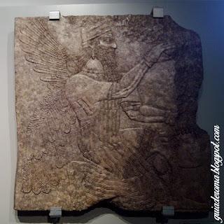 Museo Barracco genio alado escultura babilonia - Museu Barracco de Roma