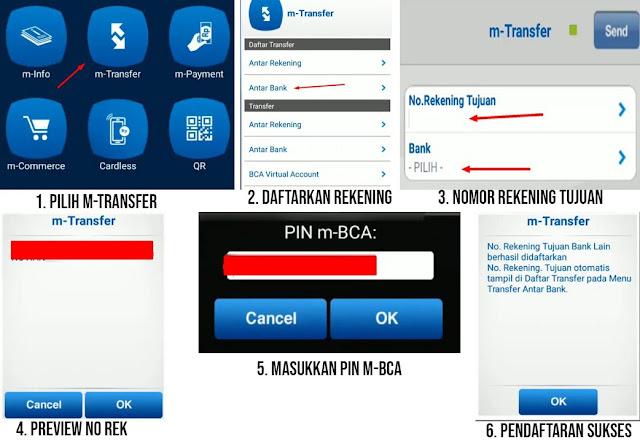 Cara Transfer dari BCA ke BRI Lewat BCA Mobile