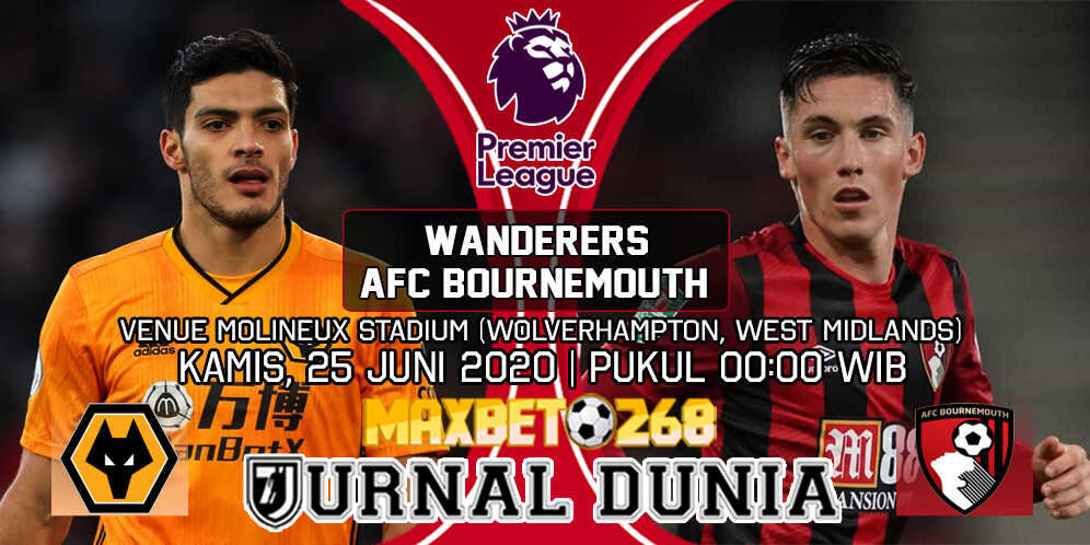 Prediksi Wolverhampton Wanderers Vs AFC Bournemouth 25 Juni 2020 Pukul 00.00 WIB