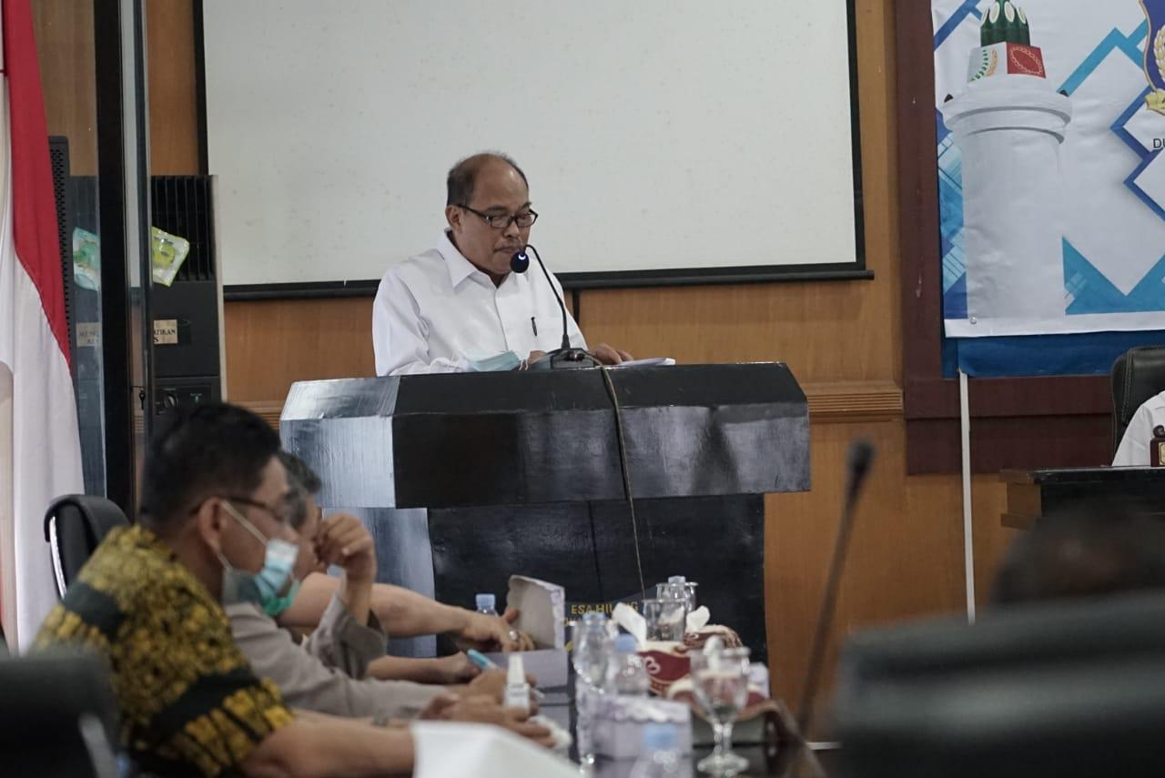 DPRD Sahkan APBD Kota Tebingtinggi TA 2021 Sebesar Rp 738.068.692.000,-.