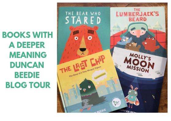Books With a Deeper Message - Duncan Beedie Blog Tour - BookBairn