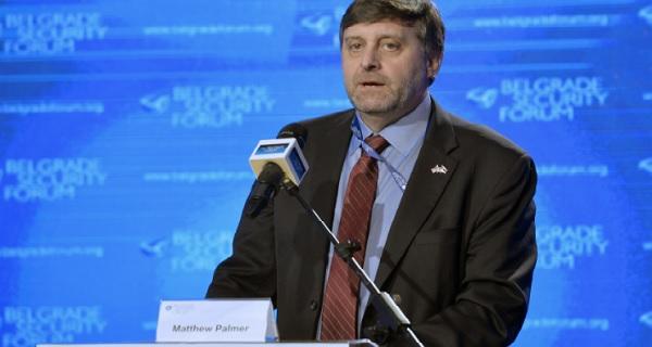 Senior US diplomat Palmer visits Skopje