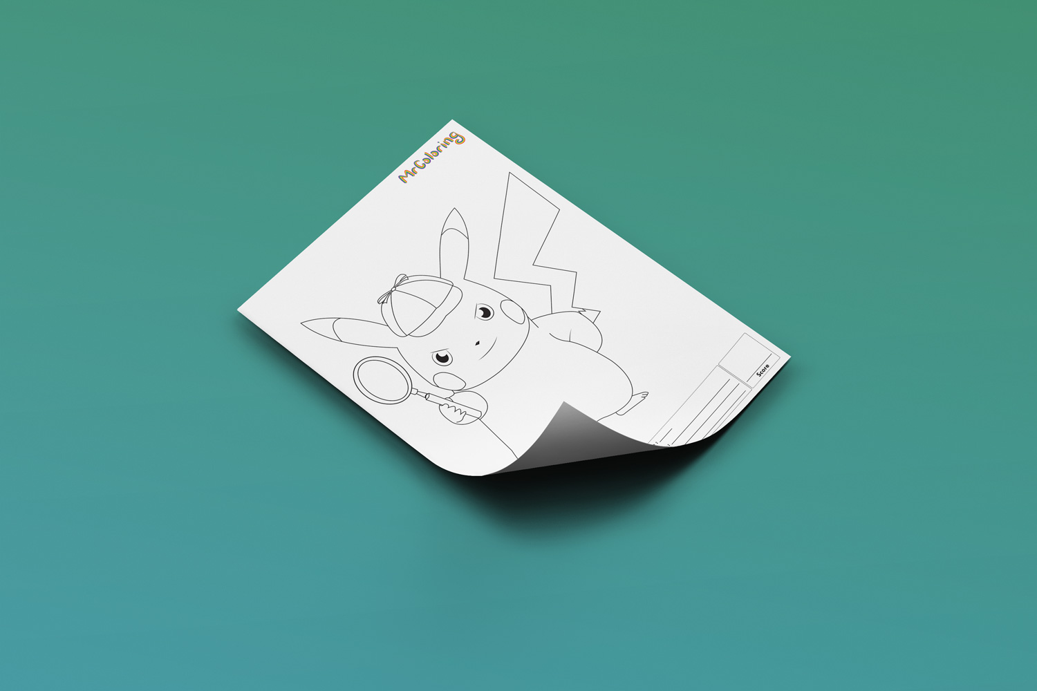 It is a picture of Pikachu Printable inside baby adorable