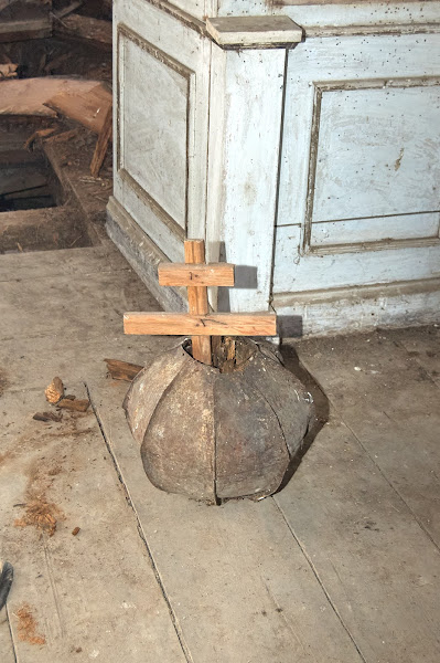 Крест в маковке
