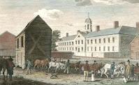 Gaol at Walnut Street (NYPL)