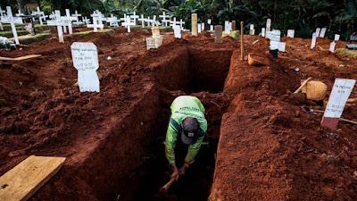 Tiga Jenazah Covid 19 Hilang Usai Dikubur, Makam Lain Rusak Dibongkar
