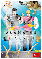 Akamatsu y Seven: Macarras in Love #2 - Ediciones Tomodomo