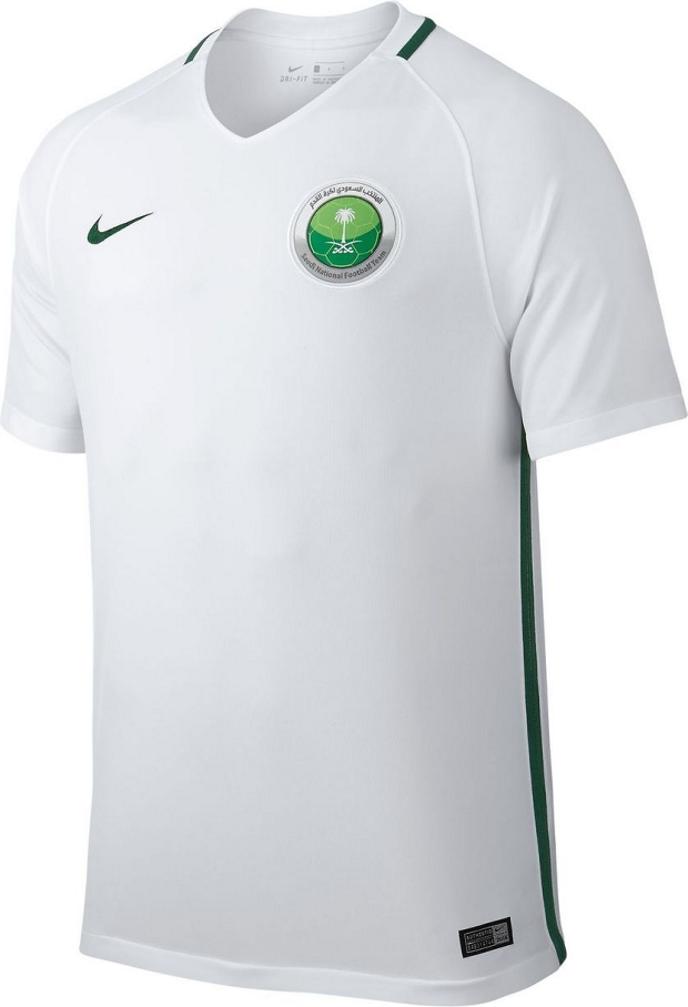 Nike divulga a nova camisa titular da Arábia Saudita - Show de Camisas 9a987b42b9580