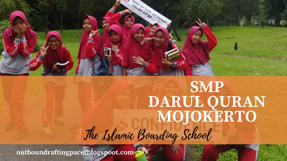 smp darul quran outbound pacet mojokerto