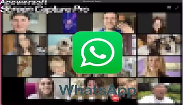 كيفية إجراء مكالمة فيديو جماعية تضم 50 شخصا بواسطة خدمة (Rooms) في تطبيق واتساب