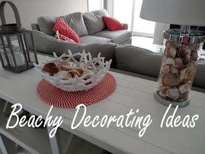 beachy decorating ideas