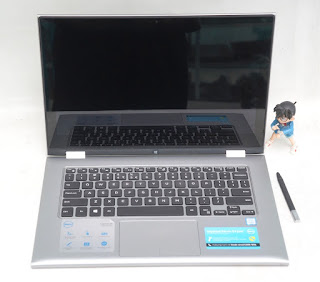 Jual Dell Inspiron 13 7000 2 In 1 With Pen bekas