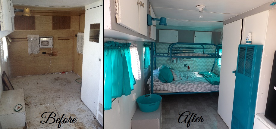 A To Z For Moms Like Me Travel Trailer Makeover