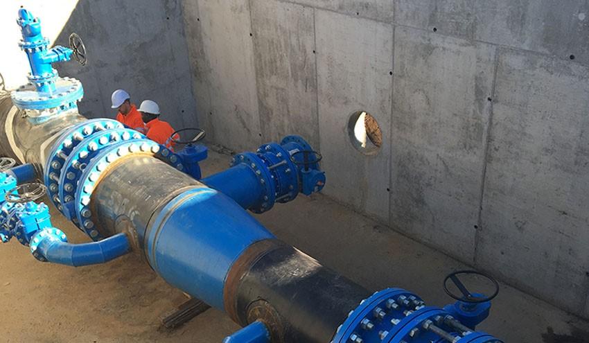 Localización de fugas en canales de transporte de agua