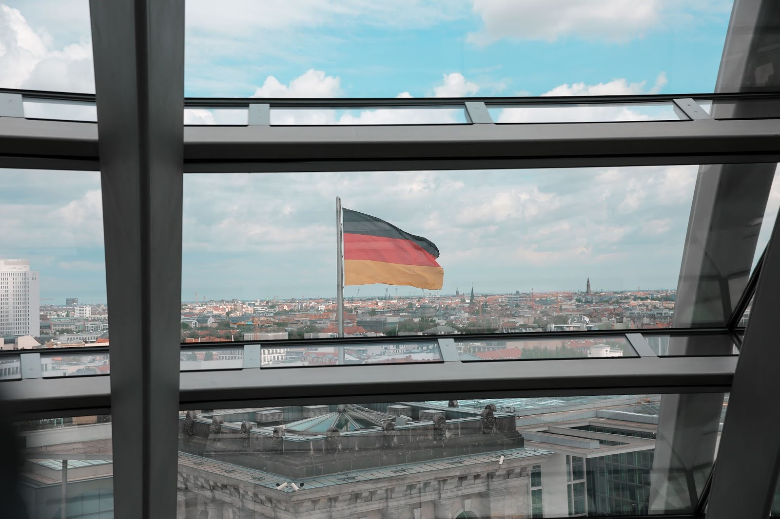 The Reichstag Building Dome View