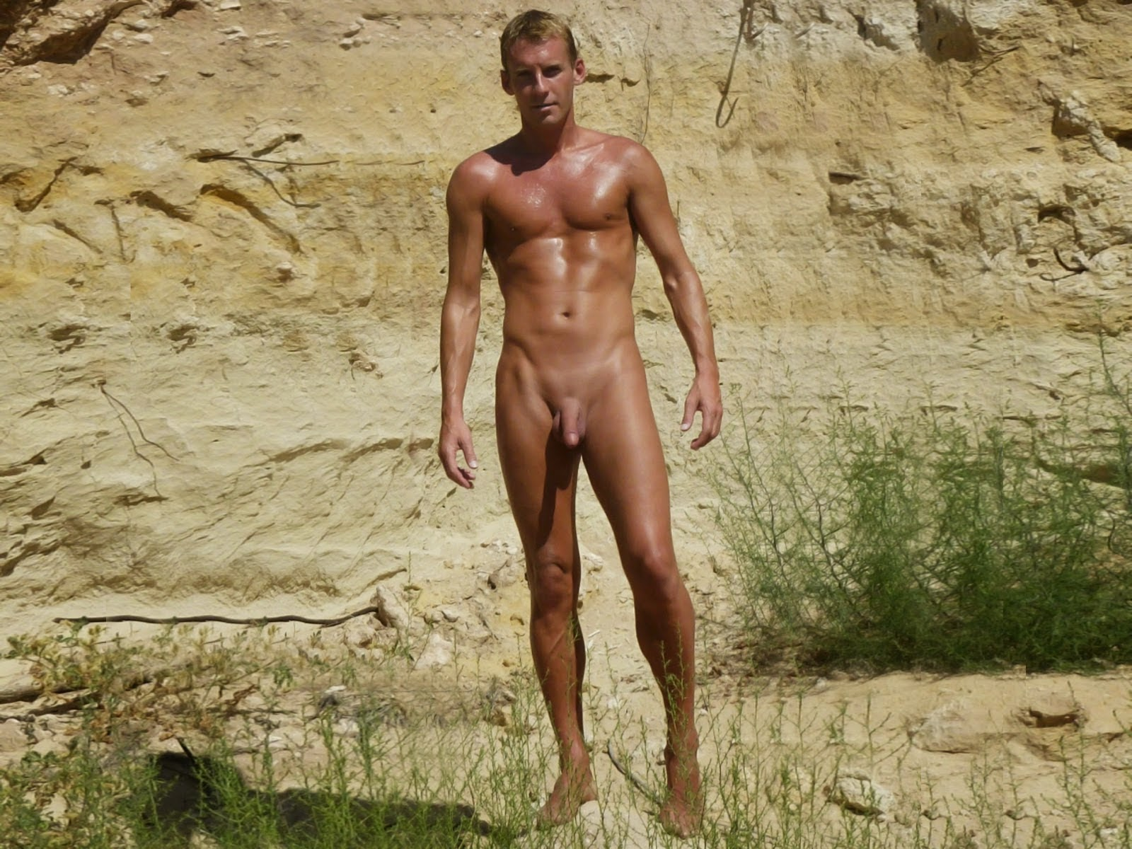 Hairy Male Full Frontal