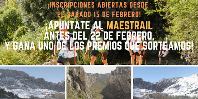 maestrail trail carrera montaña maestrazgo bajo aragon historico mayo 2020