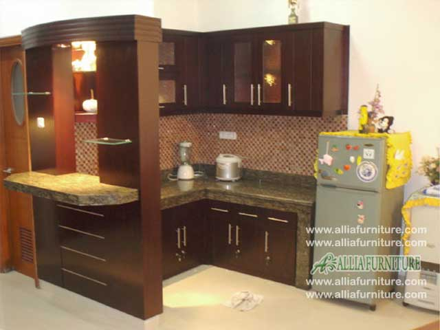 kitchen set meja bar minimalis okto