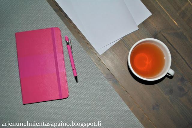 hyvinvointi, valmennus, muistikirja, pohdintaa, minä, ajatuksia