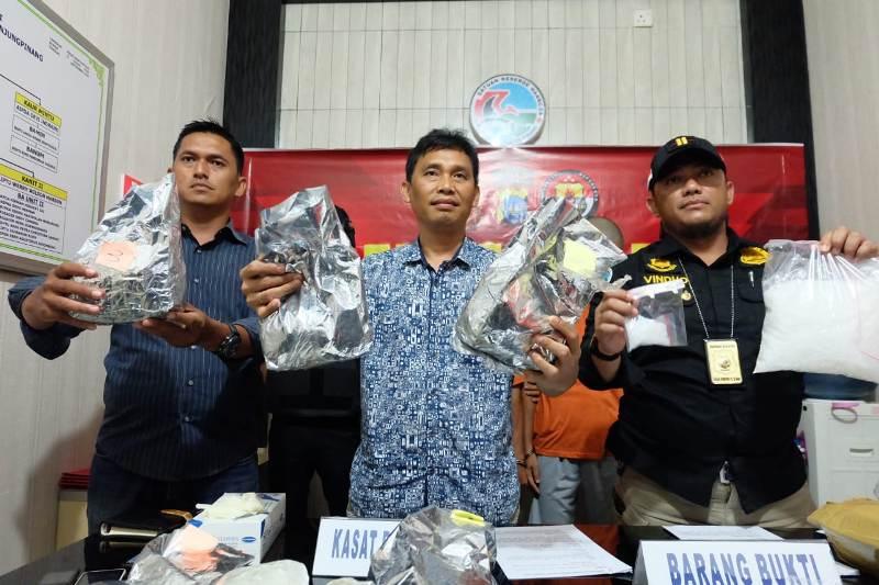 Sabu Seberat Lebih dari 8 Kilogram Berhasil Diamankan Satresnarkoba Polres Tanjungpinang