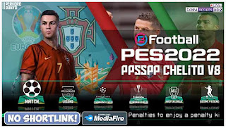 Download eFootball PES 2022 PPSSPP Special EURO 2021 New Update Kits & Full Transfer