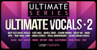 Female vocal loops and samples