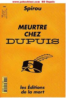 Meurtre chez Dupuis éditons