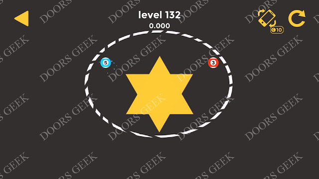 Ball & Ball Level 132 Solution, Walkthrough, Cheats for android and ios