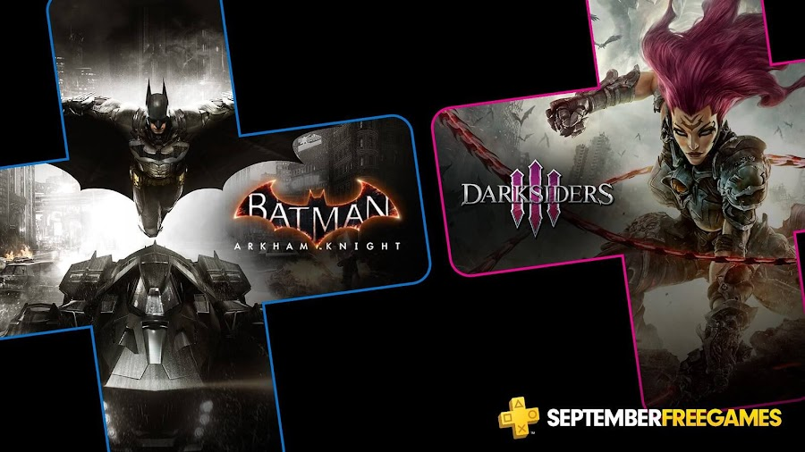 batman arkham knight darksiders 3 game ps4 plus sony interactive entertainment