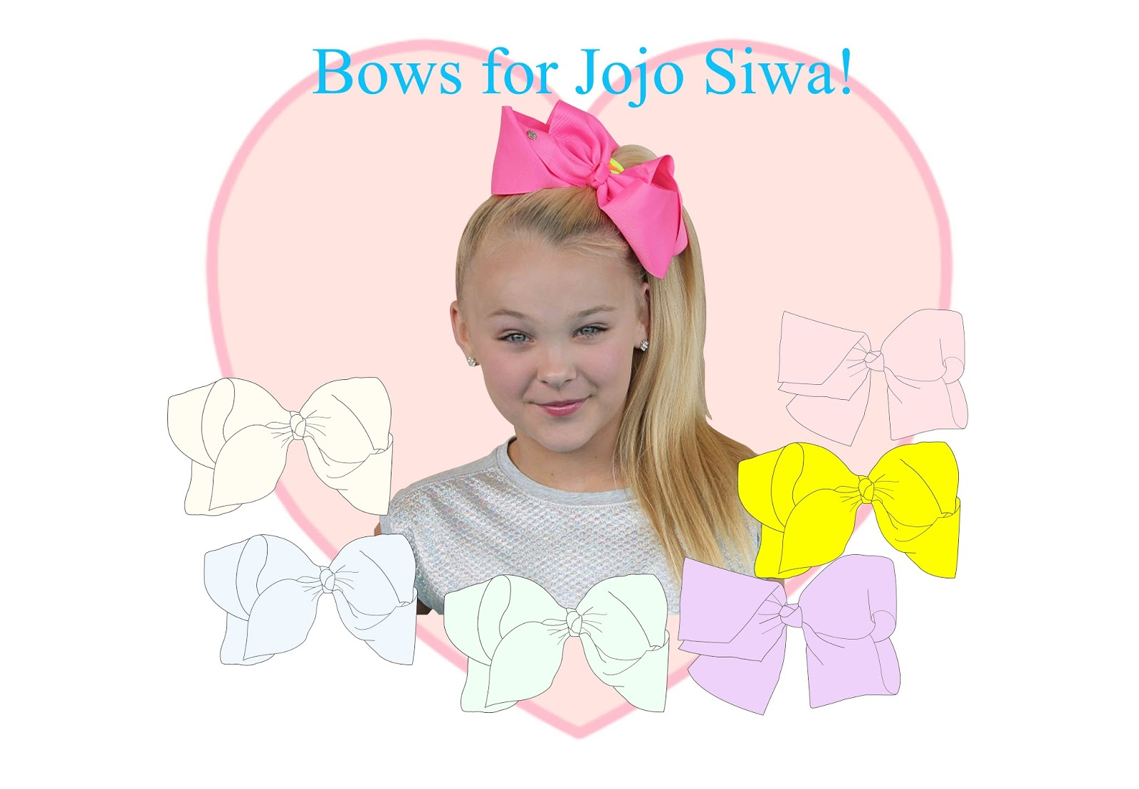 How To Draw A Jojo Siwa Doll