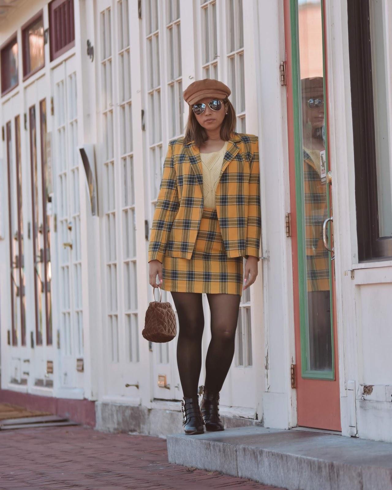 Sigue Apostando Por La Tendencia Tartán - SheIn Black Friday-mariestilo-dcblogger-sheingals-moda-fashionblogger-